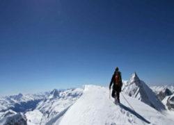 ALPINISME:Ascension du Glacier de la grande Motte (3650 m) Val d'isère