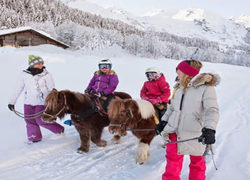 BALADE PONEY VAL D'ISERE