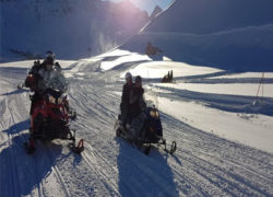 Motoneige Val d'isère