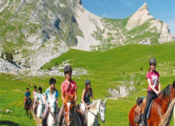 EQUITATION – CHEVAL A VAL D'ISERE