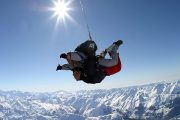 SKYDIVE FACE A L'EVEREST
